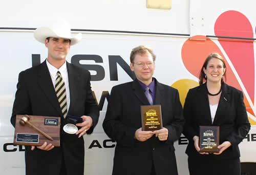 Byron Bina, Aaron McKee, Megan McCurdy