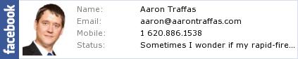 Aaron Traffas's Facebook profile
