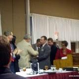 Richard Garvin receives the Presidential Award of Distinction