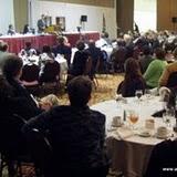Bob McBride addresses the association