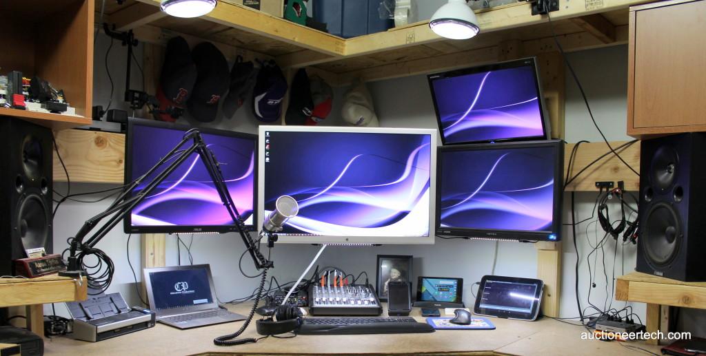 Battlestation - my podcasting workstation